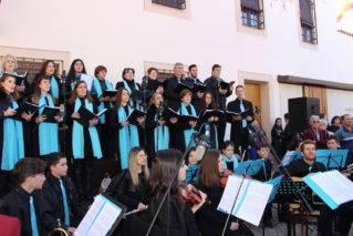 Coro y orquesta jubilar de Herencia en Malagon8