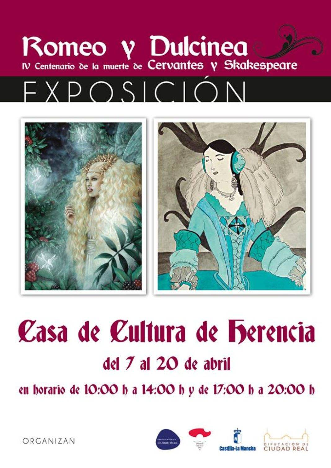 """La Casa de Cultura acoge la exposición """"Romeo y Dulcinea"""" 4"""