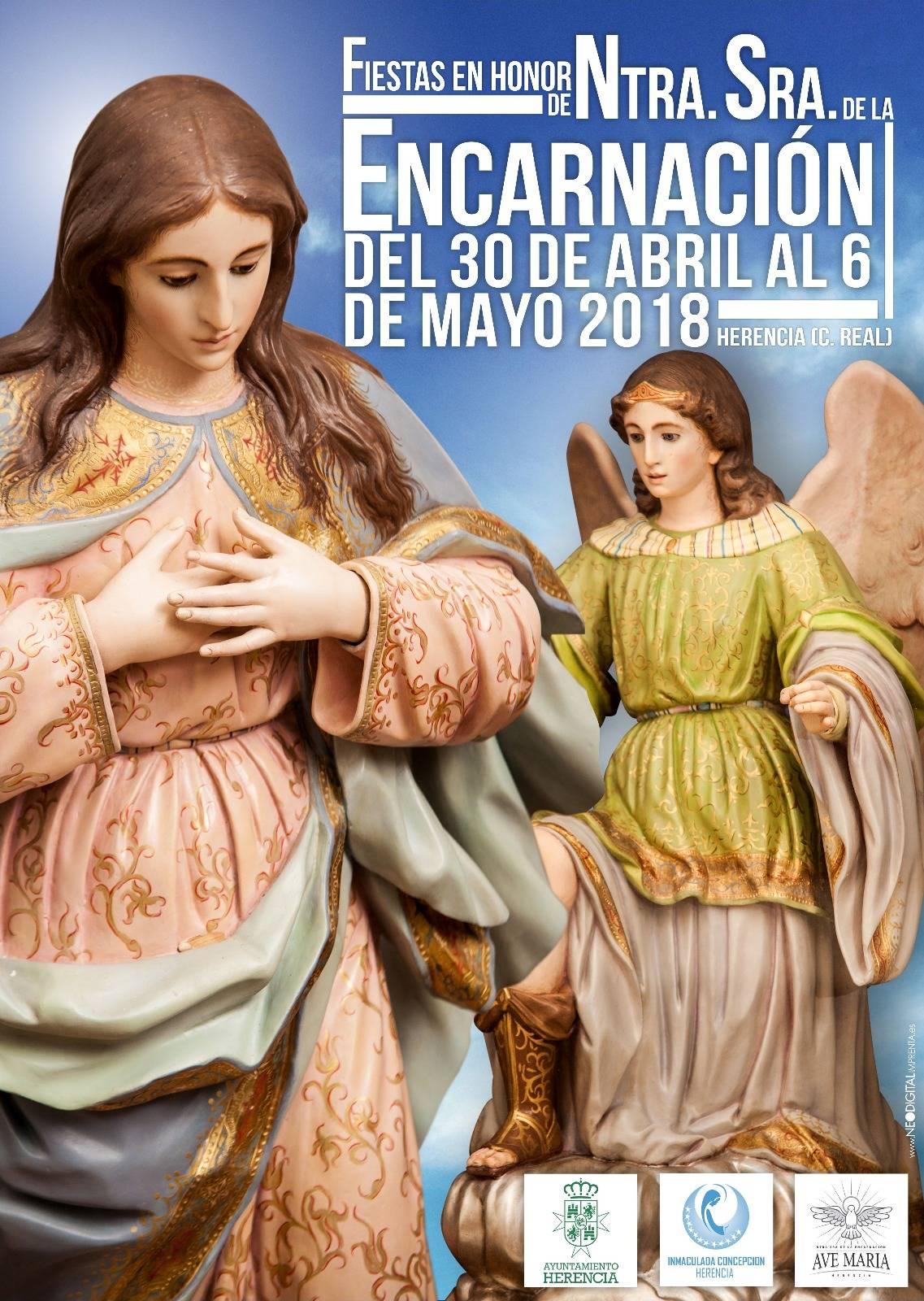 Fiestas en honor a Nuestra Se%C3%B1ora de la Encarnacion en Herencia - Fiestas en honor a Nuestra Señora de la Encarnación en Herencia