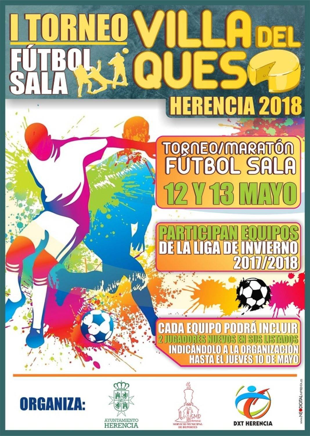 """Herencia I Toreno de futbol sala Villa del Queso 1068x1502 - I Torneo de Fútbol Sala """"Villa del Queso"""""""
