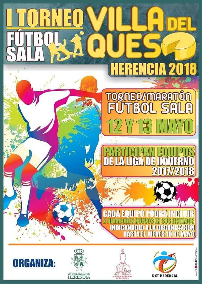 """Herencia I Toreno de futbol sala Villa del Queso - I Torneo de Fútbol Sala """"Villa del Queso"""""""