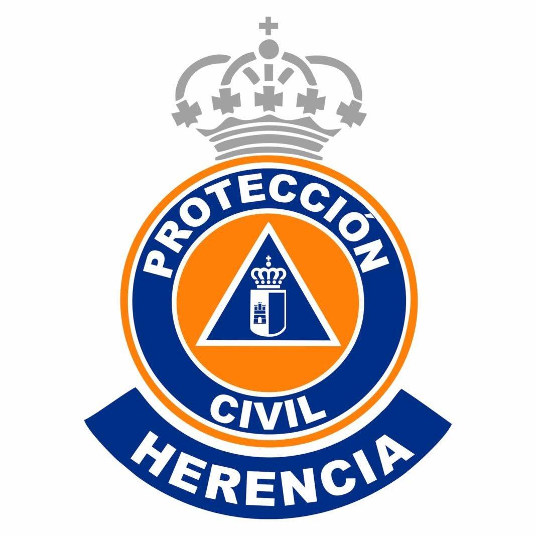 LOGO Proteccion Civil Herencia 1068x1068 - La Junta destina un equipo electrógeno y complementos para Protección Civil de Herencia