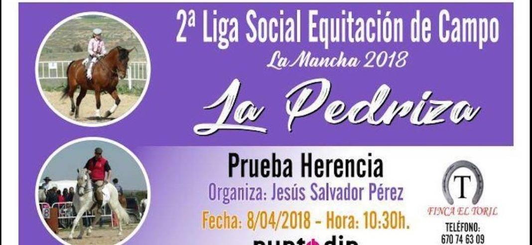 2ª Liga Social Equitación de Campo en Herencia se celebrará el 22 de abril 4