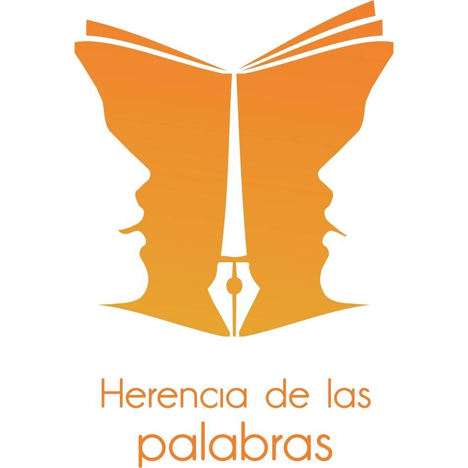 Logotipo Herencia de las palabras - Santiago González gana el concurso del logotipo de Herencia de las palabras