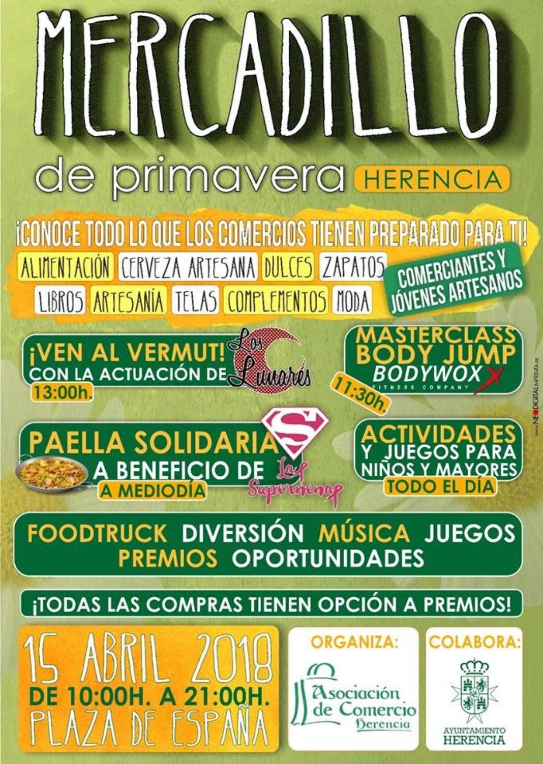 Mercadillo de primavera de Herencia 1068x1503 - El comercio de Herencia organiza un mercadillo de primavera