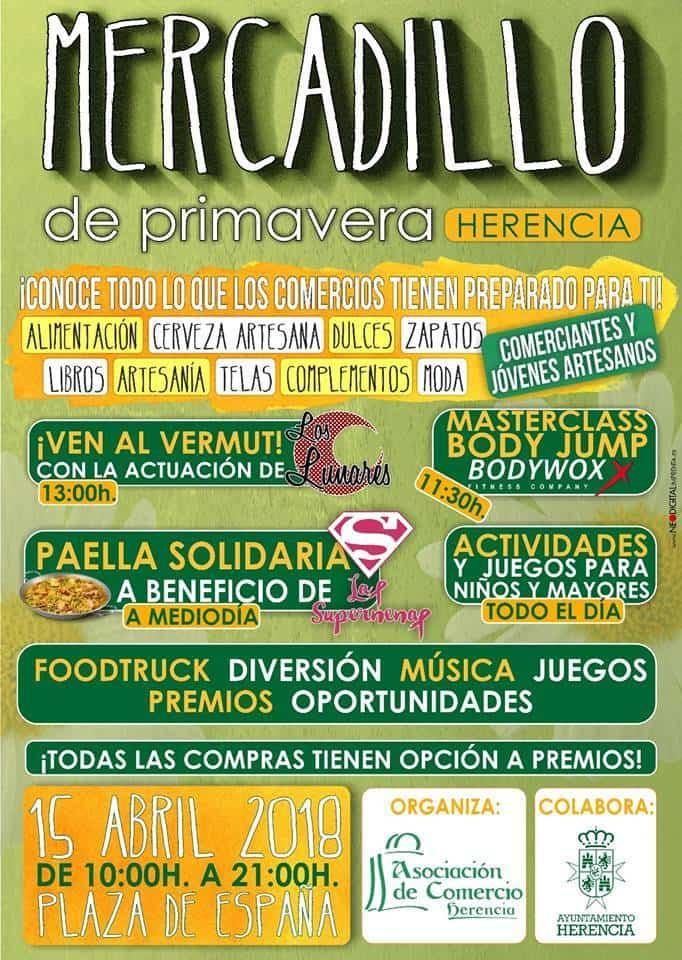 Mercadillo de primavera de Herencia - El comercio de Herencia organiza un mercadillo de primavera