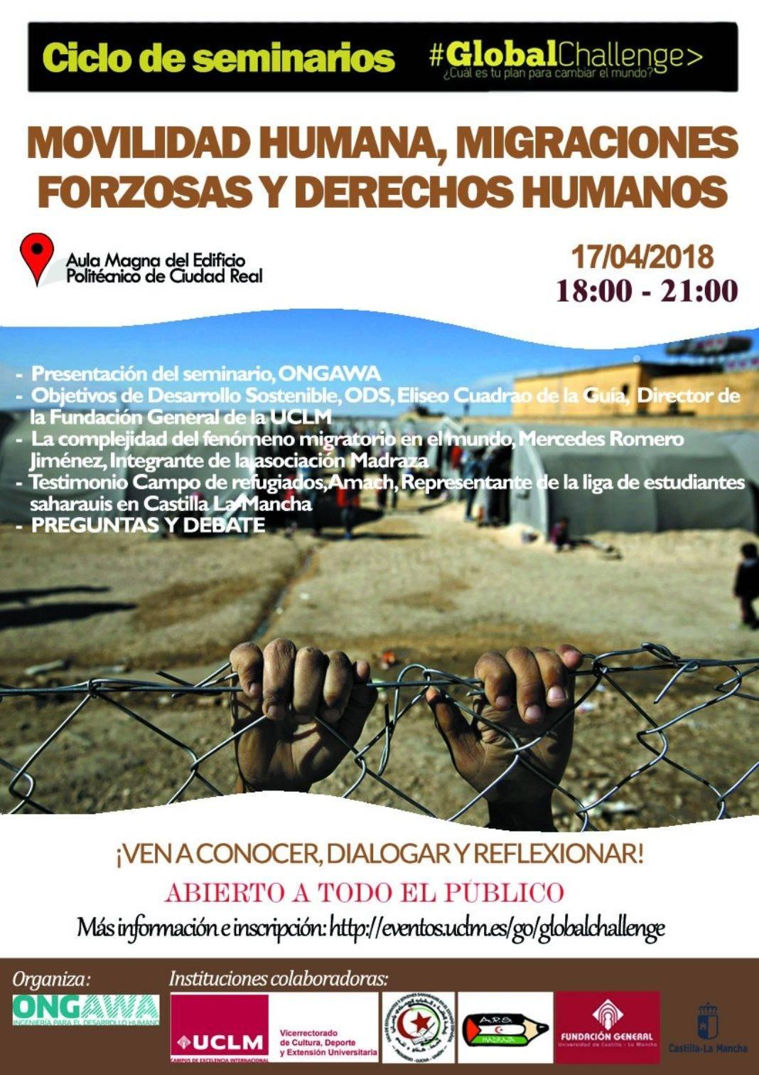 Mercedes Romero en el ciclo de conferencias Global Challenge 1068x1511 - Mercedes Romero habla en la universidad sobre la complejidad migratoria en el mundo