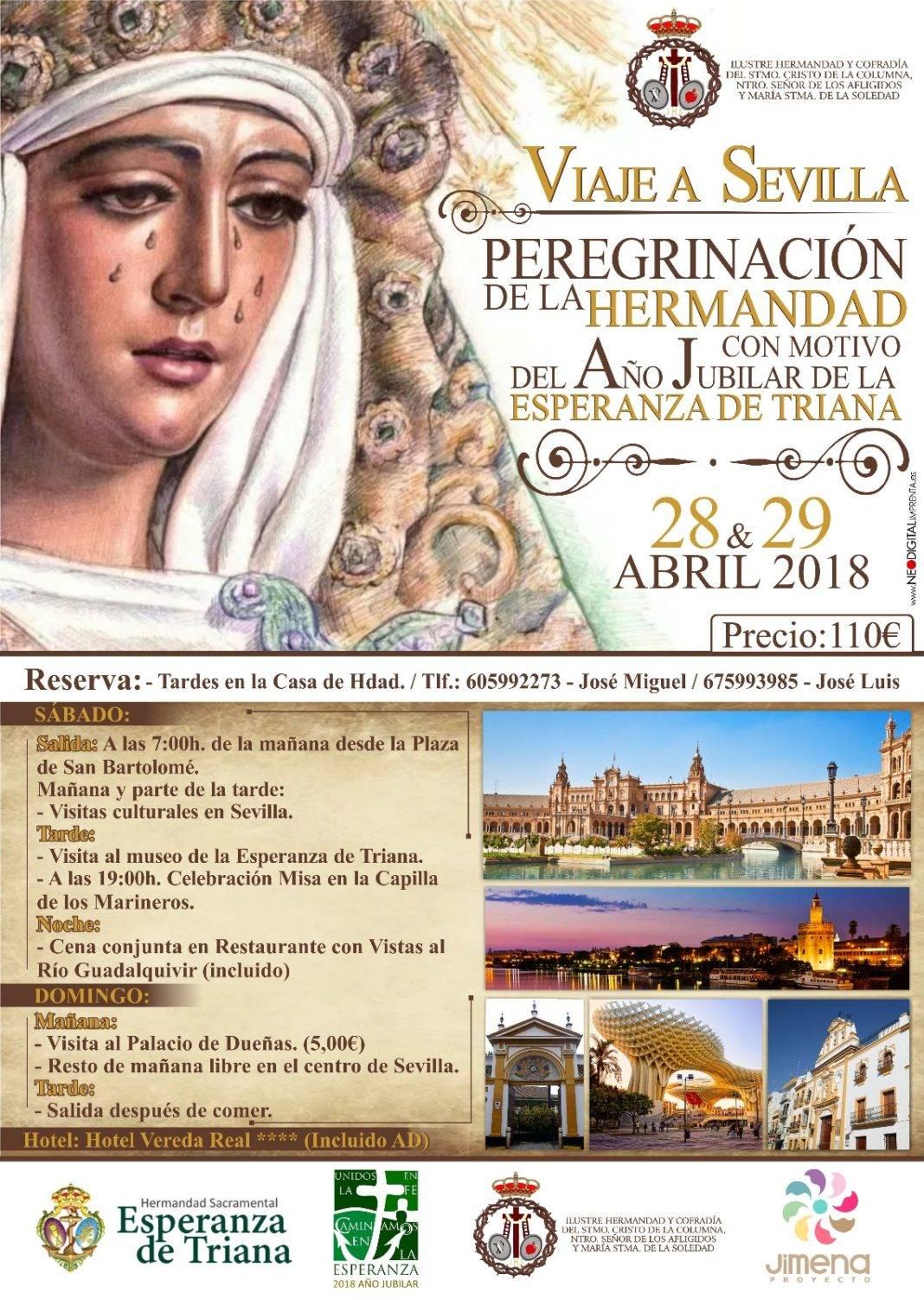 La Hermandad de El Santo organiza un viaje-peregrinación a Sevilla 4