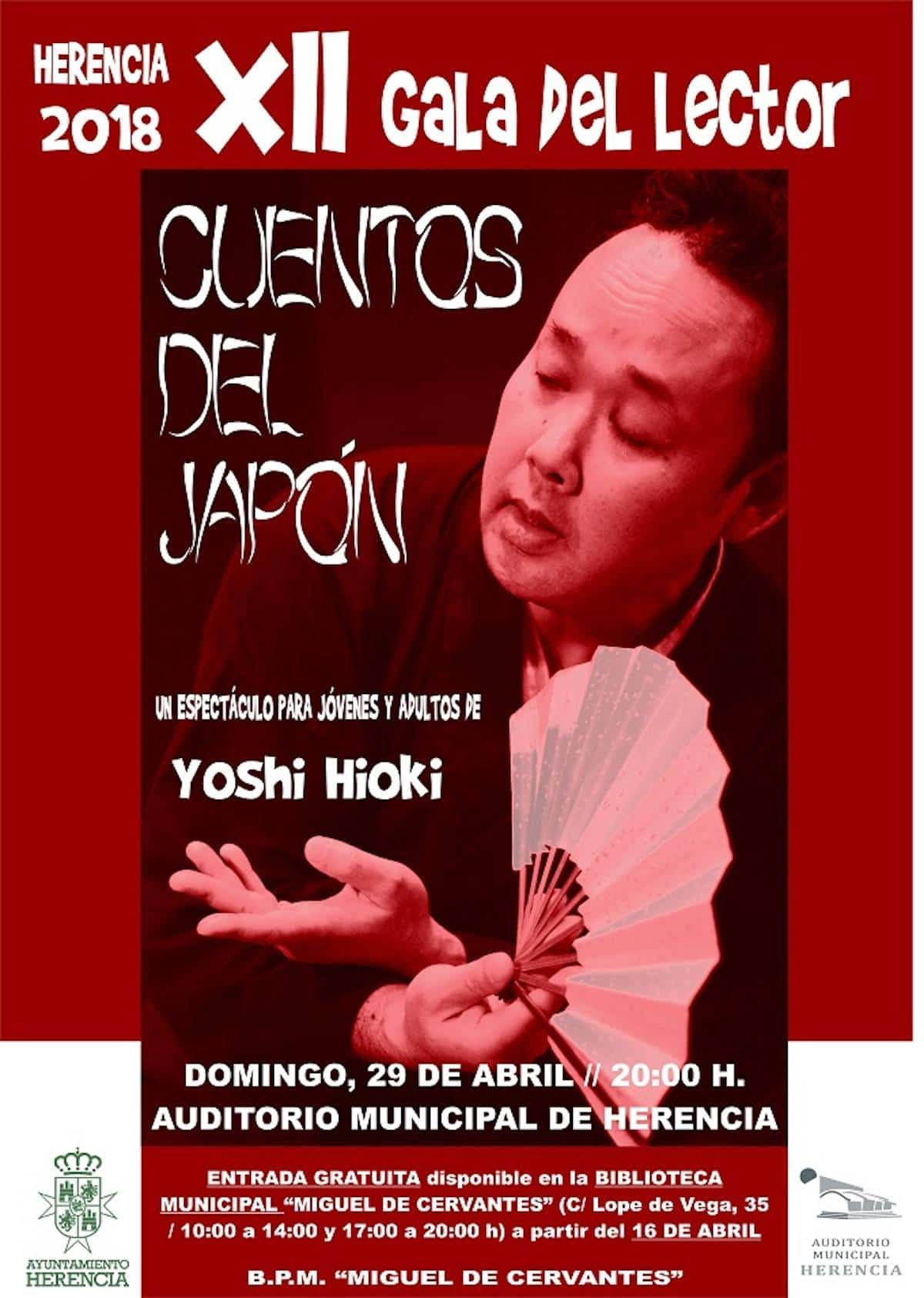 XII gala lector herencia - XII Gala del Lector con espectáculo de Yoshi Hioki