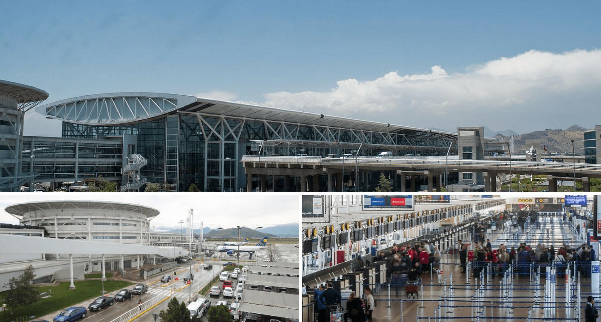 aeropuerto internacional santiago de chile Comodoro Arturo Merino Benitez - Tecnoseñal señalizará la ampliación del Aeropuerto Internacional de Santiago de Chile