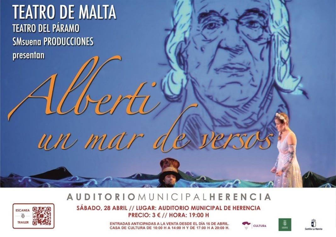 """Teatro familiar en Herencia: """"Alberti, un mar de versos"""" 4"""