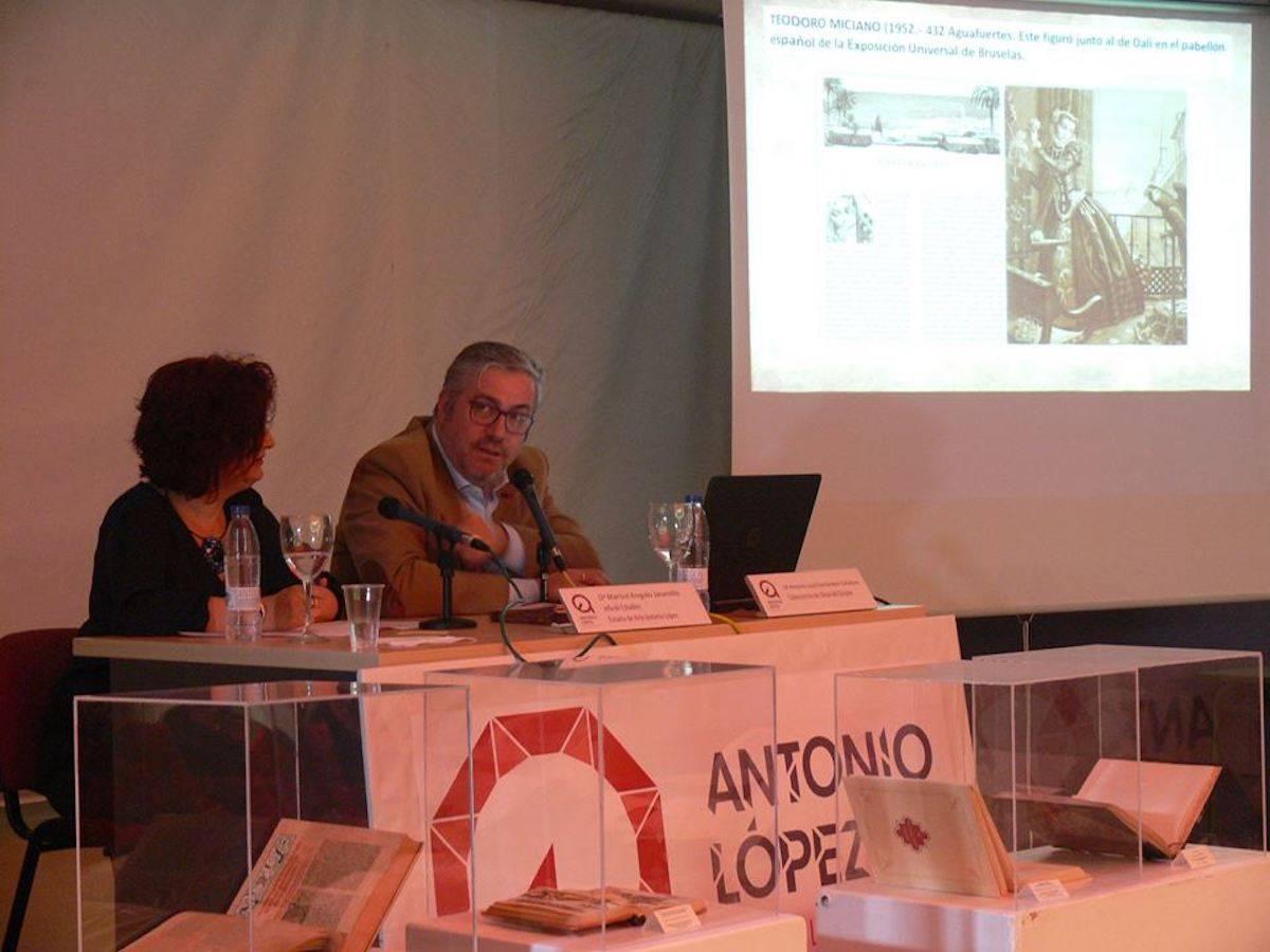 """Charla """"Quijotes Singulares"""" por Antonio José en la Escuela Antonio López 3"""