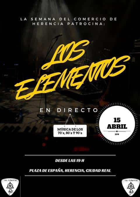 concierto de los elementos - El comercio de Herencia organiza un mercadillo de primavera