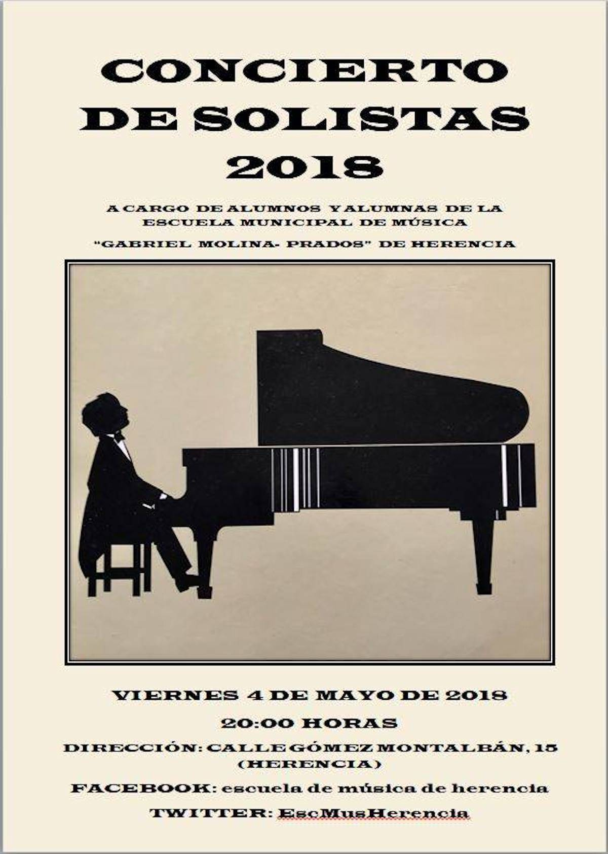 concierto solistas herencia - Concierto de Solistas 2018 en la Escuela Municipal de Música