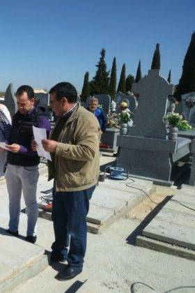 Tubyder suministra el material para las nuevas fosas del Cementerio Municipal de Herencia 5