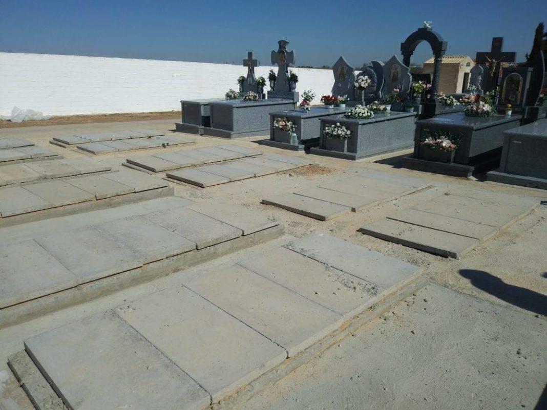 Tubyder suministra el material para las nuevas fosas del Cementerio Municipal de Herencia 7