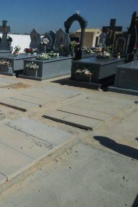 construccion nuevas fosas cementerio municipal herencia 2 280x420 - Tubyder suministra el material para las nuevas fosas del Cementerio Municipal de Herencia