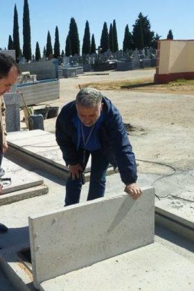 construccion nuevas fosas cementerio municipal herencia 3 280x420 - Tubyder suministra el material para las nuevas fosas del Cementerio Municipal de Herencia