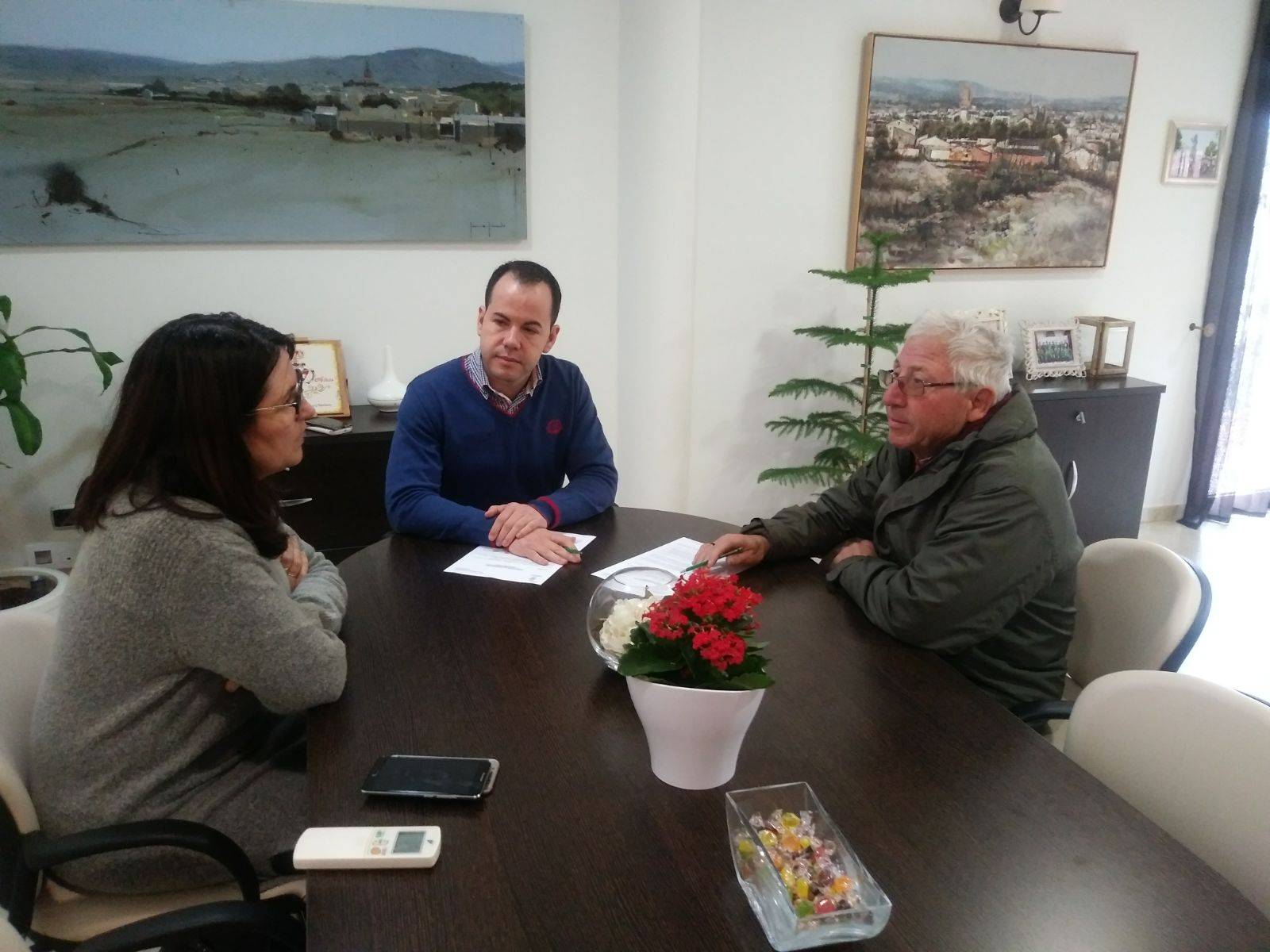 Renovación del convenio entre ayuntamiento y la Agrupación Musical Santa Cecilia 6