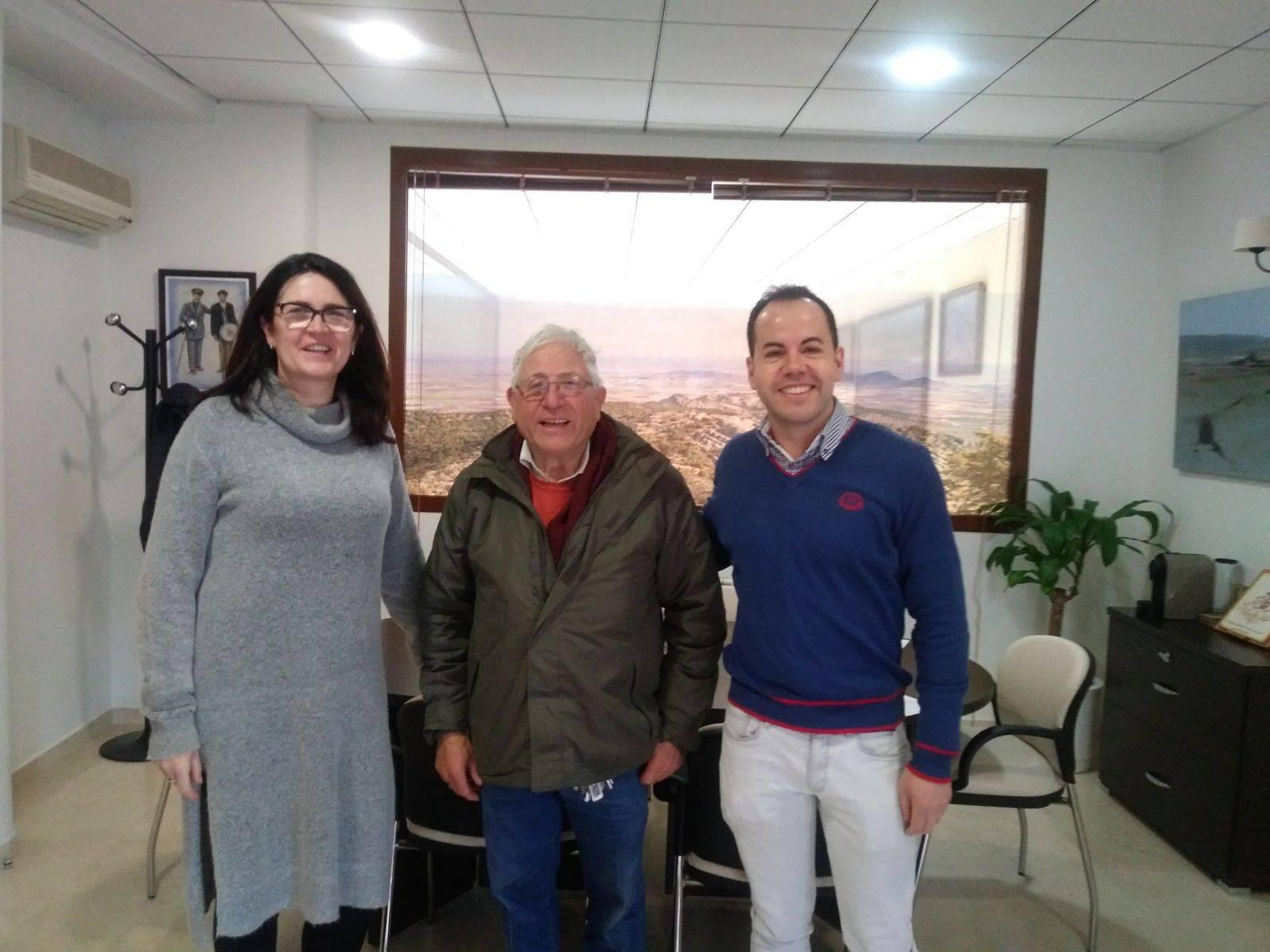 Renovación del convenio entre ayuntamiento y la Agrupación Musical Santa Cecilia 5