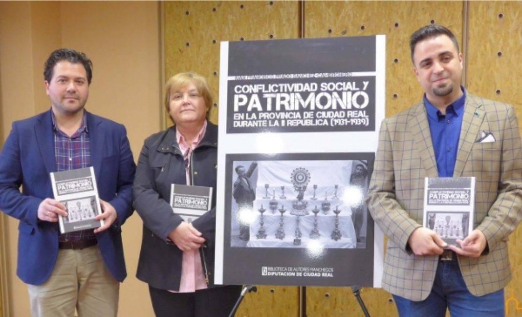 """El vicepresidente de la Diputación presenta el libro """"Conflictividad Social y Patrimonio"""" escrito por Juan Francisco Prado 4"""