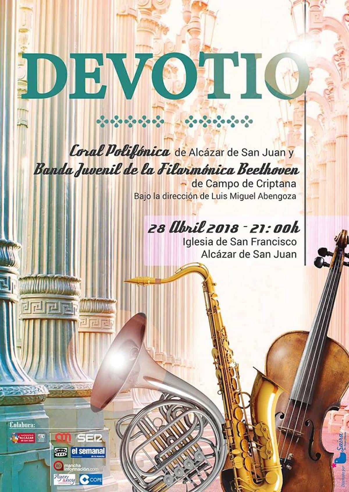 devotio - Concierto Devotio bajo la dirección del herenciano Luis Miguel Abengoza en Alcázar