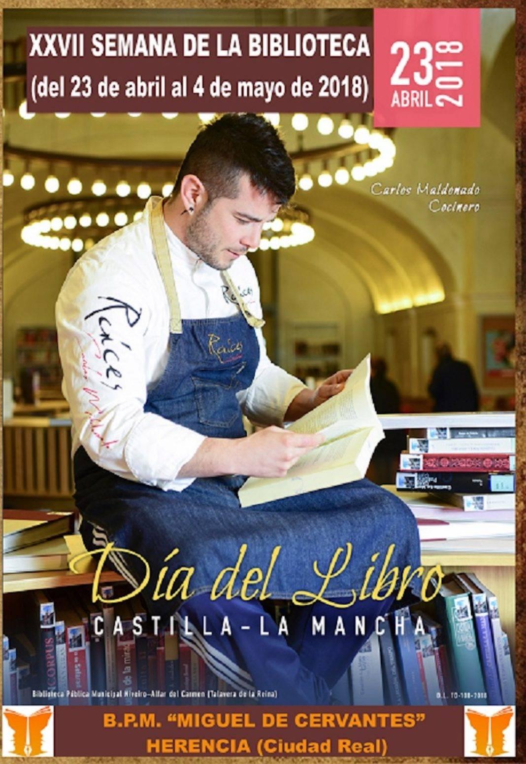 dia del libro 2018 herencia 1068x1550 - XXVII Semana de la Biblioteca en Herencia