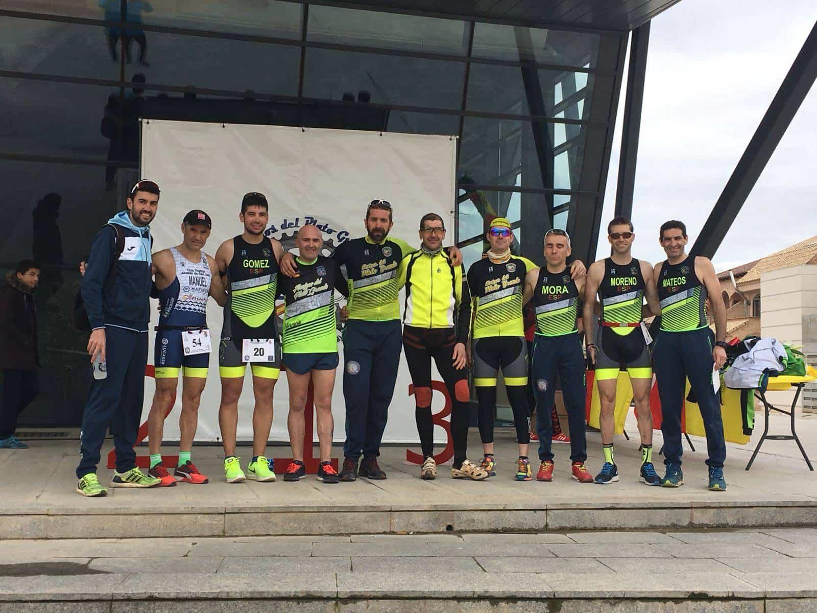 """equipo amigos plato grande duatlon cross herencia - Resultados de VI Duatlón-Cross """"Villa de Herencia"""""""