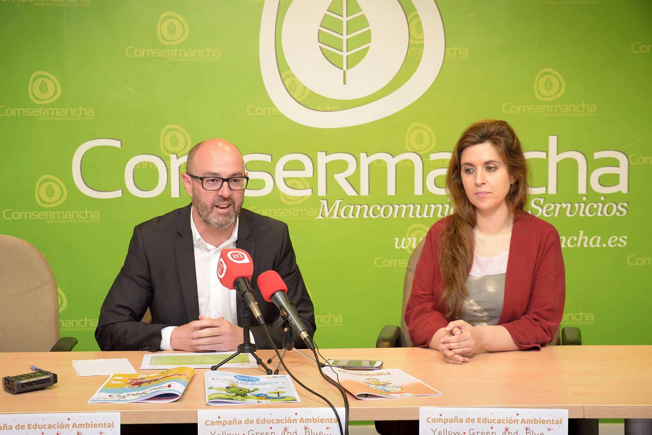 20180516 Campa Escolar Reciclaje en Ingles Comsermancha - La campaña de reciclaje en inglés de Comsermancha llegará a más de 5.000 escolares