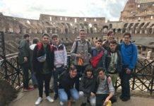 Alumnos del colegio Seminario Menor Mercedario viajan a Roma