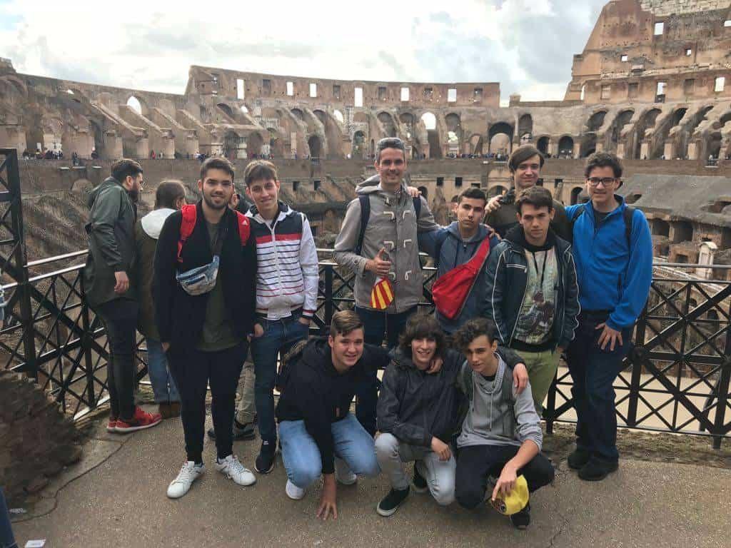 Alumnos del colegio Seminario Menor Mercedario viajan a Roma - Alumnos del colegio Seminario Menor Mercedario viajan a Roma
