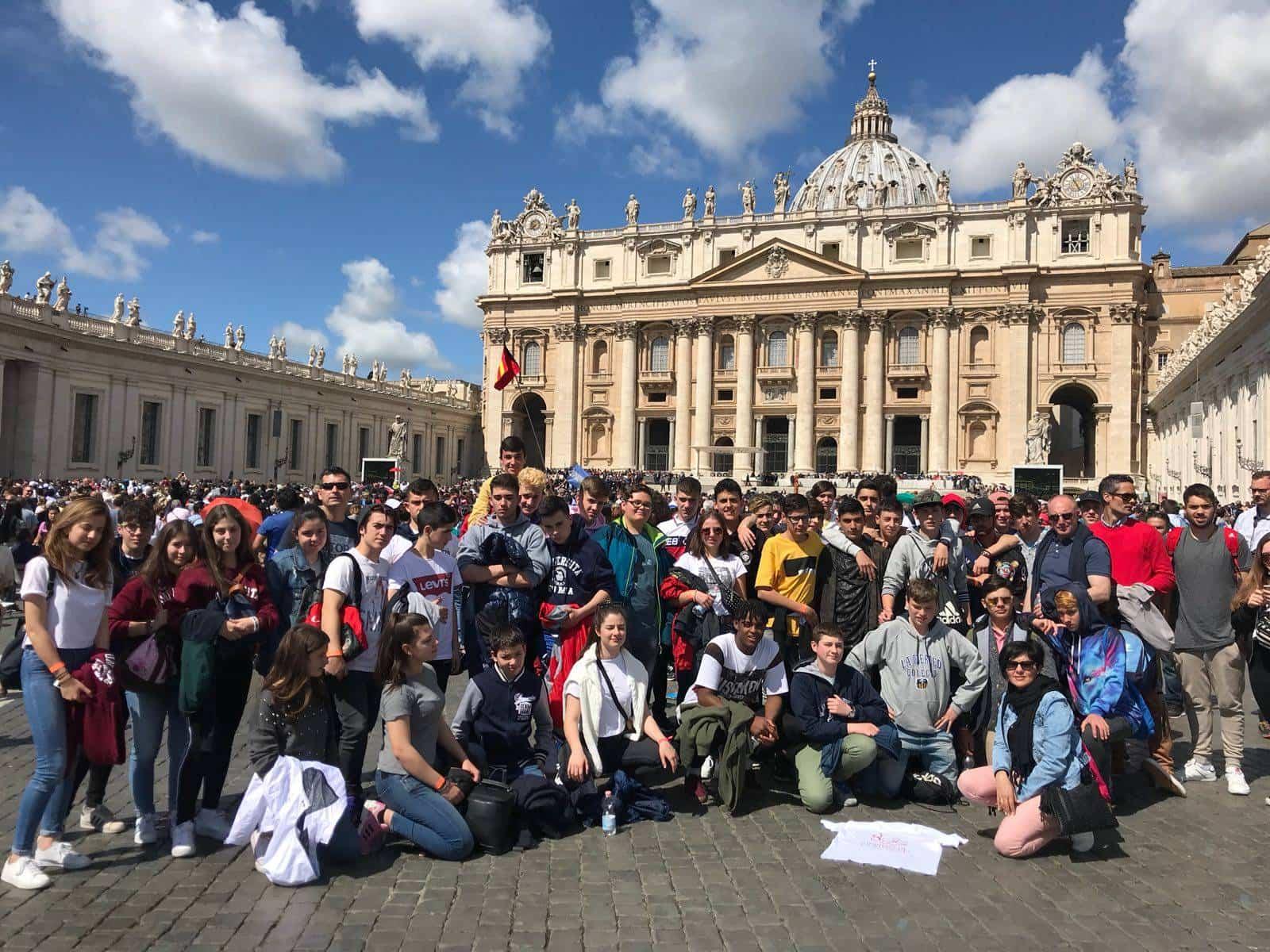 Alumnos del colegio Seminario Menor Mercedario viajan a Roma1 - Alumnos del colegio Seminario Menor Mercedario viajan a Roma