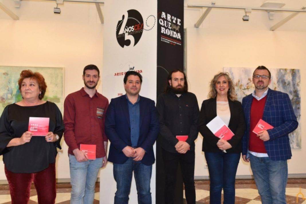 """Arte que ronda 2 1068x712 - La exposición """"Arte que ronda"""" de la Diputación de CR incluye la obra de un artista herenciano"""