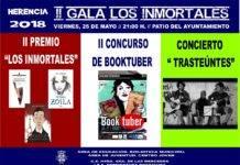 """II Gala del Proyecto Lector """"Los Inmortales"""""""