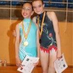 Celia Martín subcampeona regional alevín de gimnasia rítmica 4