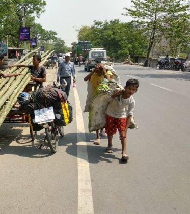 Elías Escribano llega a Bangladesh. Crónica de Perlé por el mundo 112