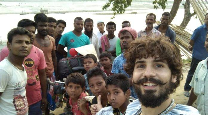 Elías Escribano llega a Bangladesh. Crónica de Perlé por el mundo