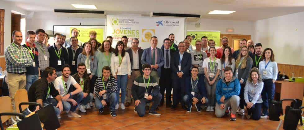 II Campus Jovenes Cooperativistas de CLM1 - Herencia estuvo presente en el II Campus Jóvenes Cooperativistas de Castilla-La Mancha