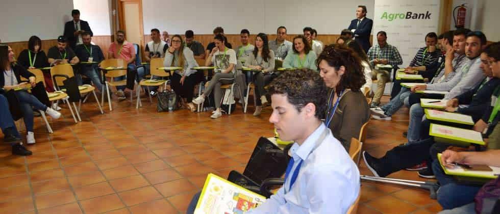 II Campus Jovenes Cooperativistas de CLM2 - Herencia estuvo presente en el II Campus Jóvenes Cooperativistas de Castilla-La Mancha