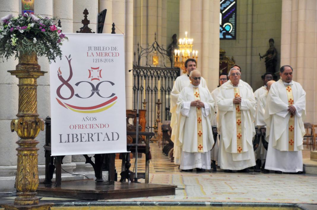 Herencia invitada a la misa por el VIII centenario de la Orden de la Merced en la archidiócesis de Madrid 13