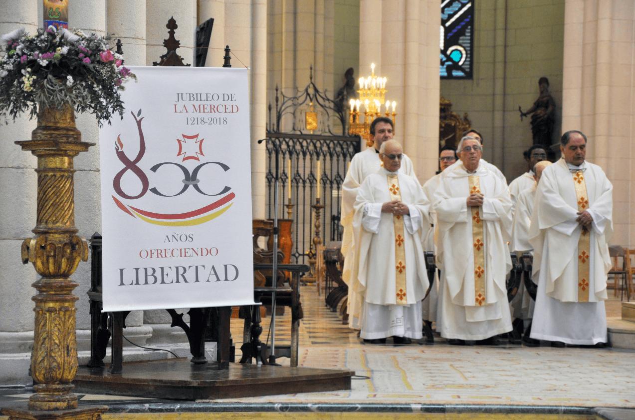 Herencia invitada a la misa por el VIII centenario de la Orden de la Merced en la archidiócesis de Madrid 9