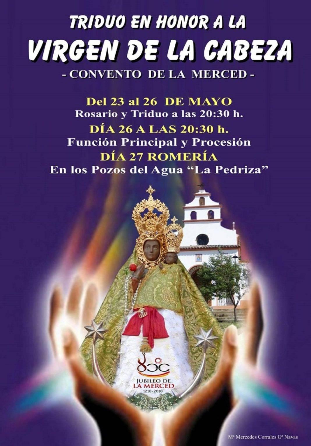 Romería Virgen de la Cabeza 1068x1529 - Este fin de semana romería en honor de la Virgen de la Cabeza
