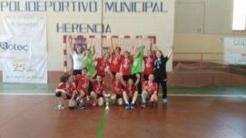 SMD BM Quijote Herencia alevinas3 271x152 - El SMD BM Quijote Herencia alevín femenino se proclama campeón regional de balonmano