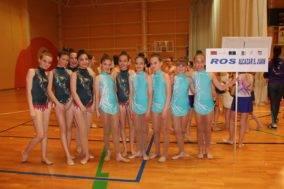Segunda fase del campeonato regional de guimnasia ritmica