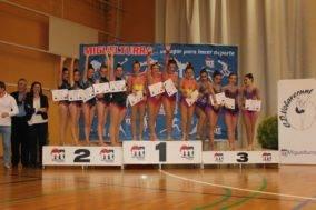 Segunda fase del campeonato regional de guimnasia ritmica1 284x189 - Celia Martín subcampeona regional alevín de gimnasia rítmica