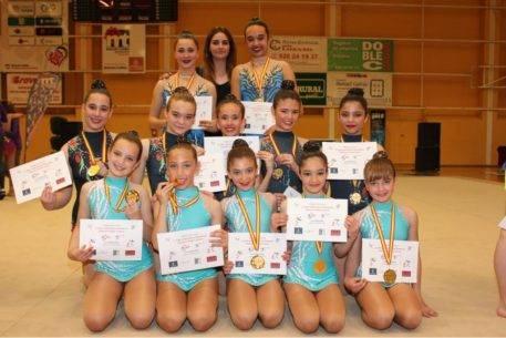 Segunda fase del campeonato regional de guimnasia ritmica2 457x305 - Celia Martín subcampeona regional alevín de gimnasia rítmica
