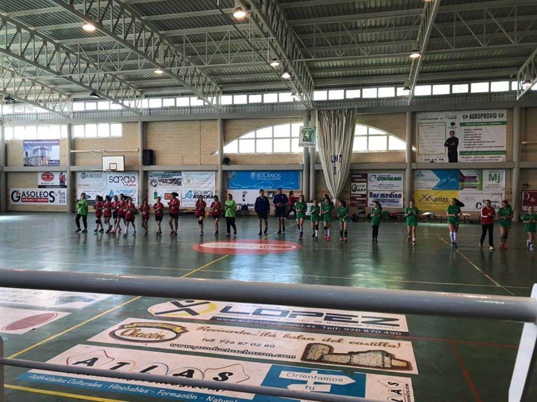 El Alevín Femenino de Balonmano a la final regional 7