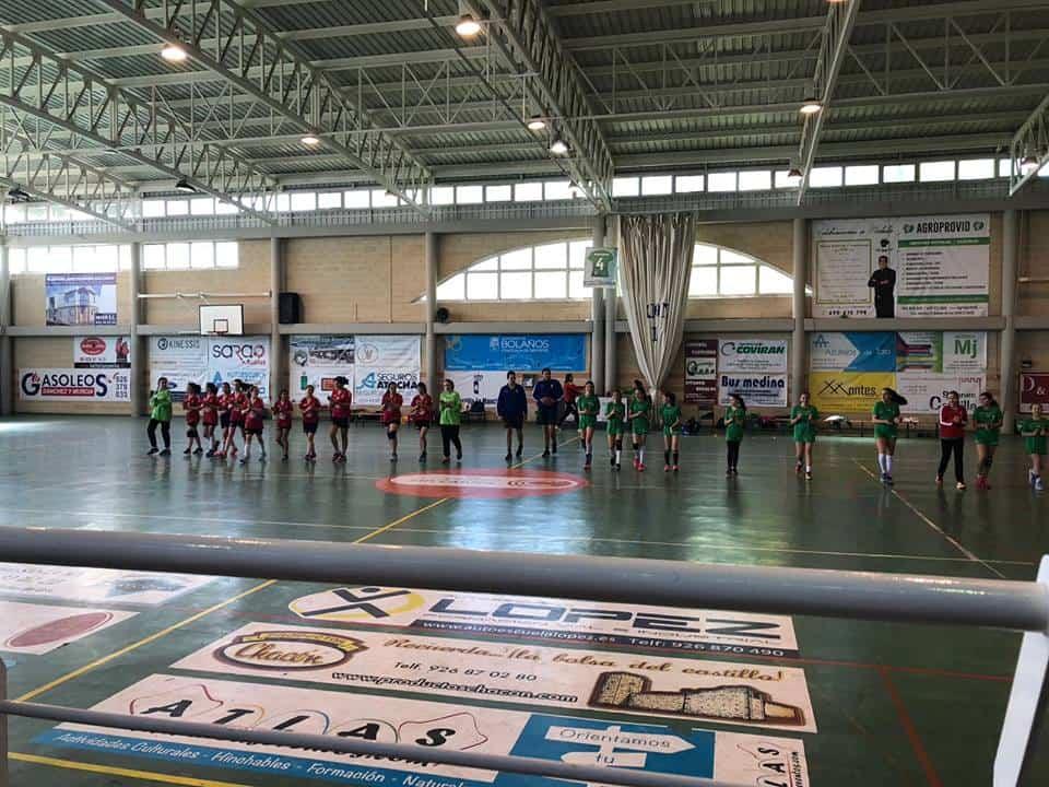 alevin femenino herencia semifinal 1 - El Alevín Femenino de Balonmano a la final regional