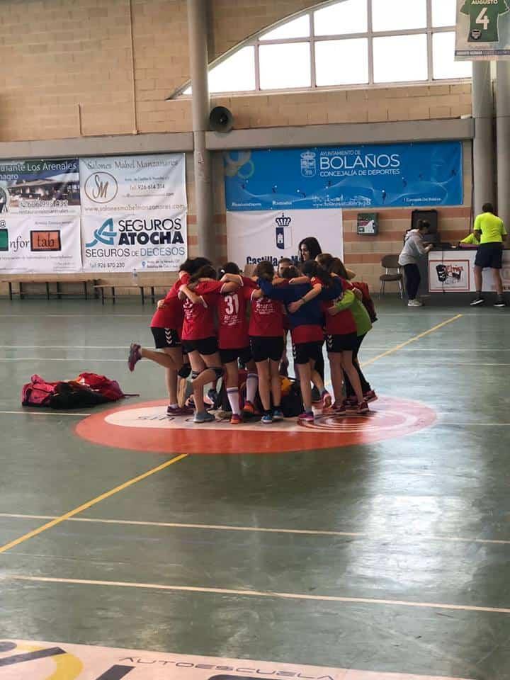 alevin femenino herencia semifinal 2 - El Alevín Femenino de Balonmano a la final regional