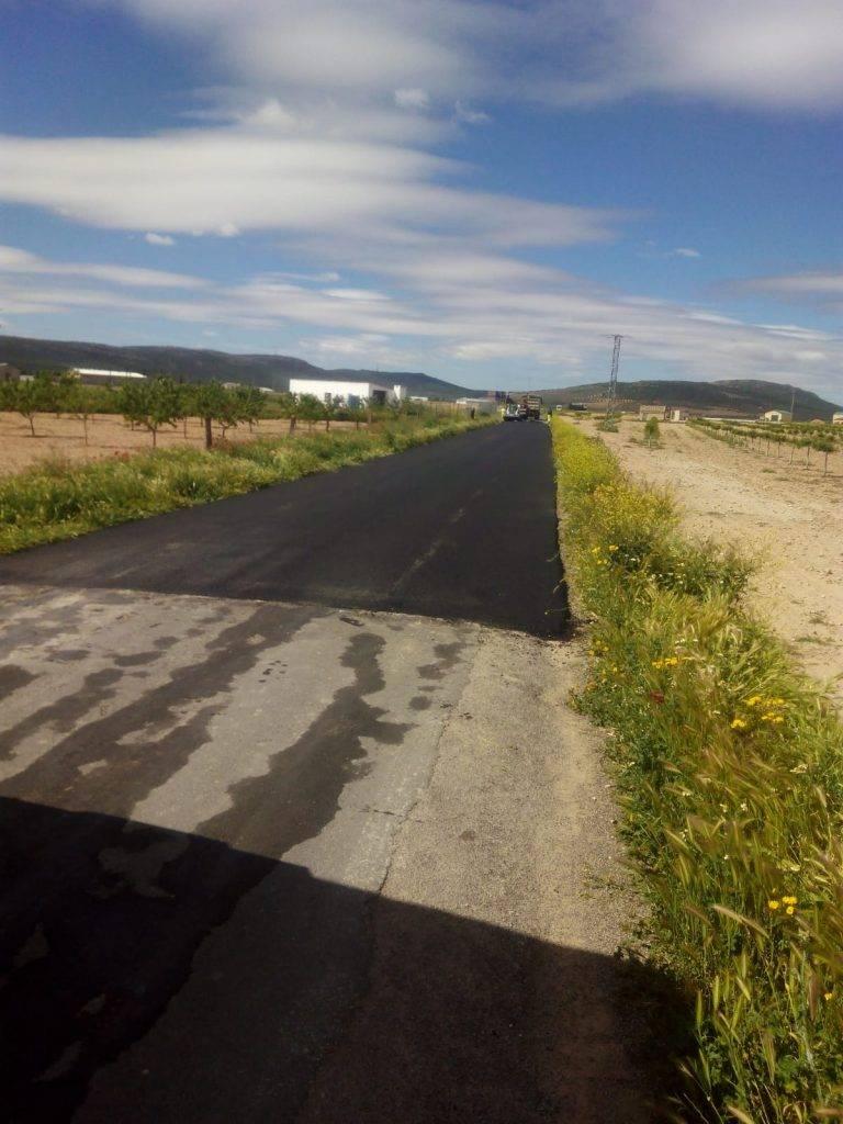 arreglo caminos de acceso a La Pedriza de Herencia1 - El Ayuntamiento asfalta los caminos de acceso a la Pedriza